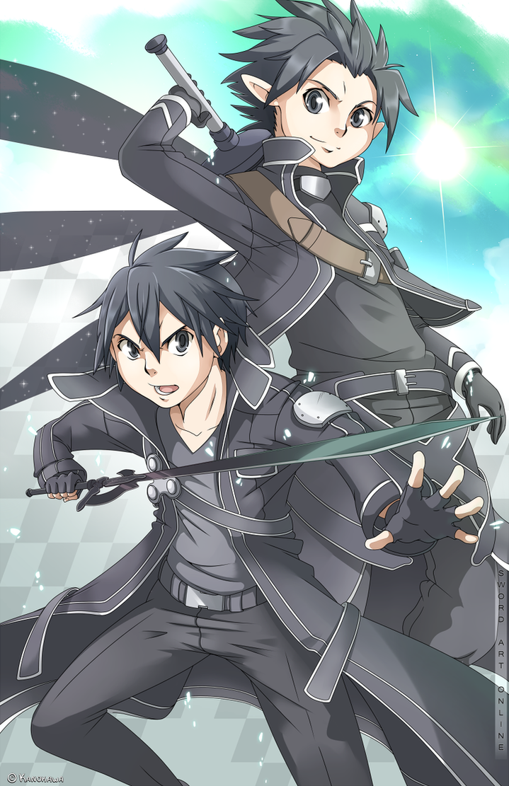 Sword Art Online - Kirito by Kanokawa