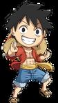One Piece: Luffy 2013 Chibi