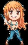 One Piece: Nami Chibi