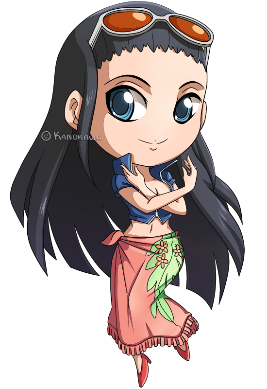 One Piece Nico Robin Chibi by Kanokawa on DeviantArt