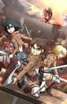 SnK Attack on Titan - Wir Sind die Jaeger