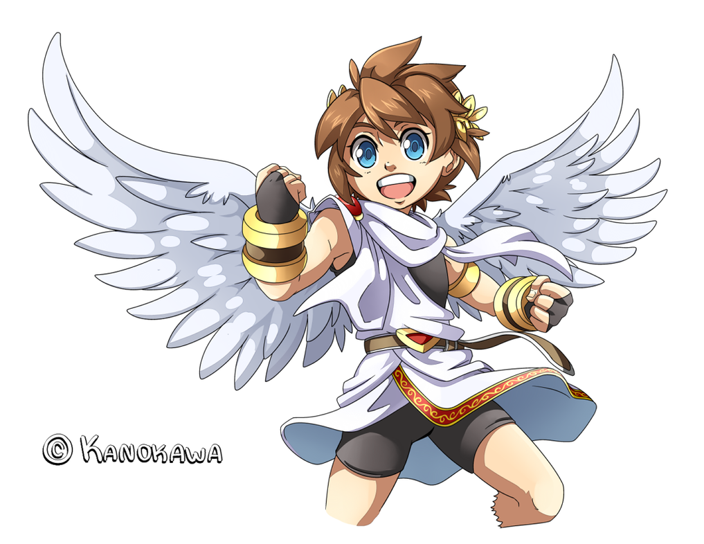 Kid Icarus Uprising Pit Illustration By Kanokawa