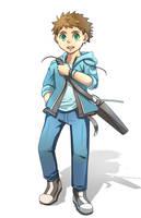 Laharl234 Commission: Ethan by Kanokawa