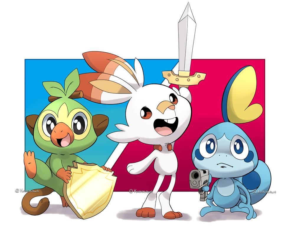 Pokemon Sword Shield And By Kanokawa On Deviantart