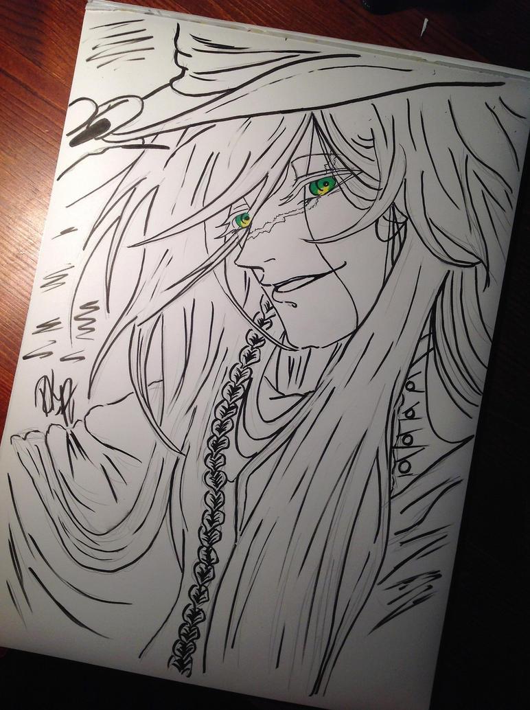 Undertaker from Kuroshitsuji by riksuraksupoksu