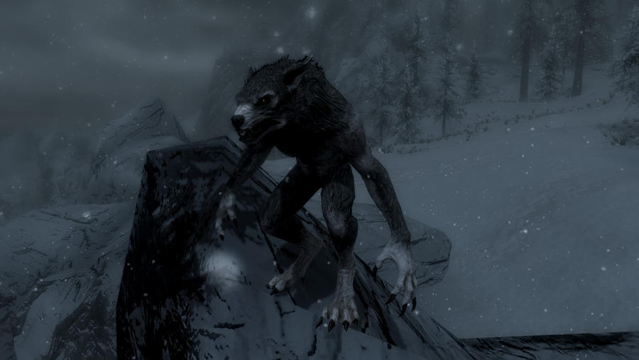 skyrim werewolf mod