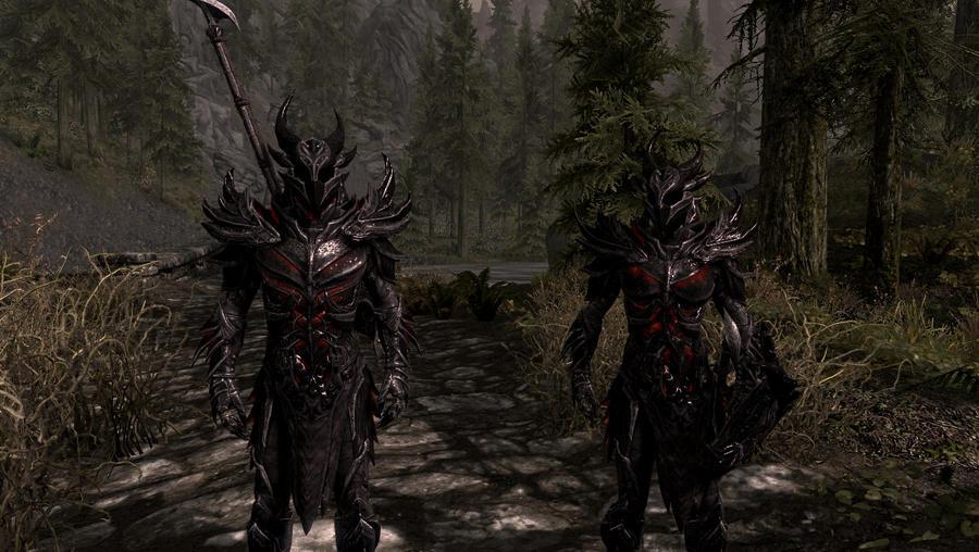 Daedric armor by XxWhiteShadow96xX