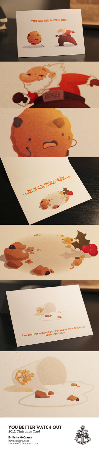 2012 Christmas Card by SHIBUYA401