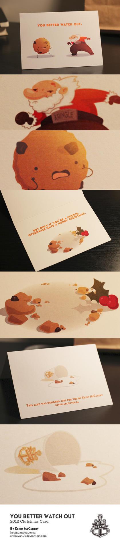2012 Christmas Card by SHIBUYA401