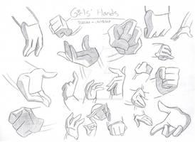 Loonatics' Hands - Girls