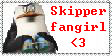 Skipper fangirl stamp by PsychoAngel51402