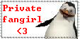Private fangirl stamp by PsychoAngel51402