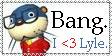 I love Lyle stamp by PsychoAngel51402