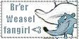 Br'er Weasel fangirl stamp by PsychoAngel51402