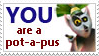 Potapus stamp by PsychoAngel51402