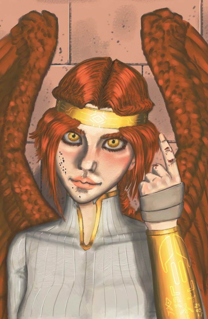 Aidel#1 Face by XAVERIVS