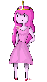 Apple Wedding: Princess Bubblegum: Pixel by The-Bish-Of-Hyrule