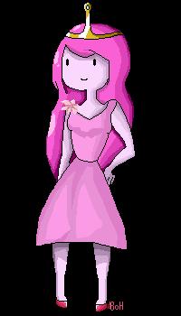Apple Wedding: Princess Bubblegum: Pixel by The-Bish-Of-Hyrule
