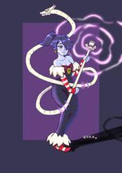 Squigly (Skullgirls) by kukadot