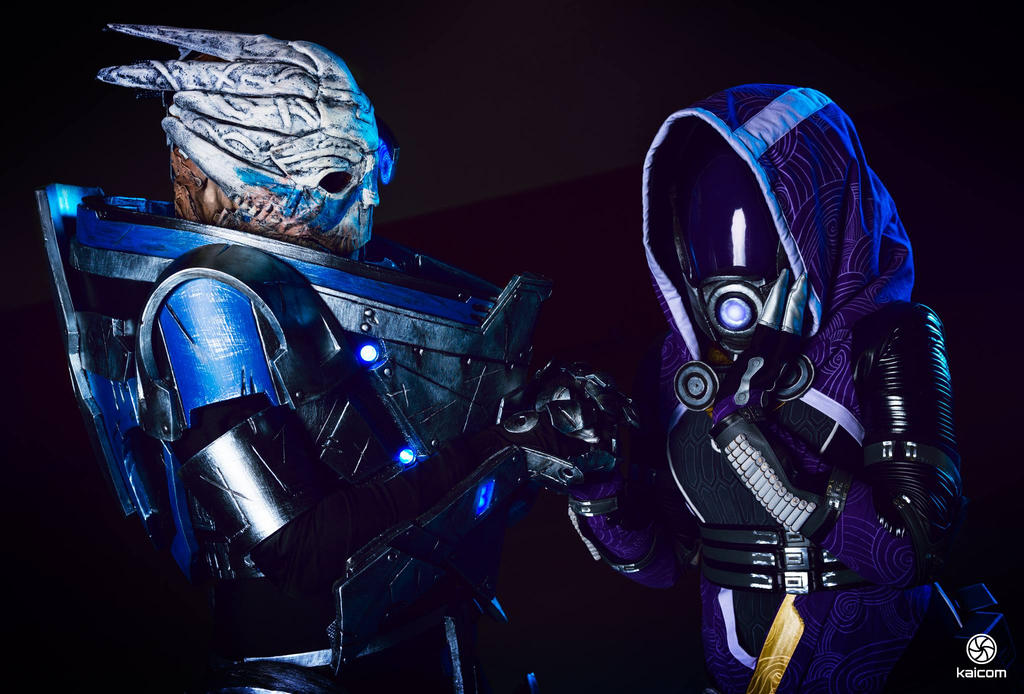 garrus and tali relationship