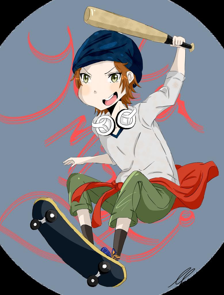 Yata Misaki by AppleLove-chan