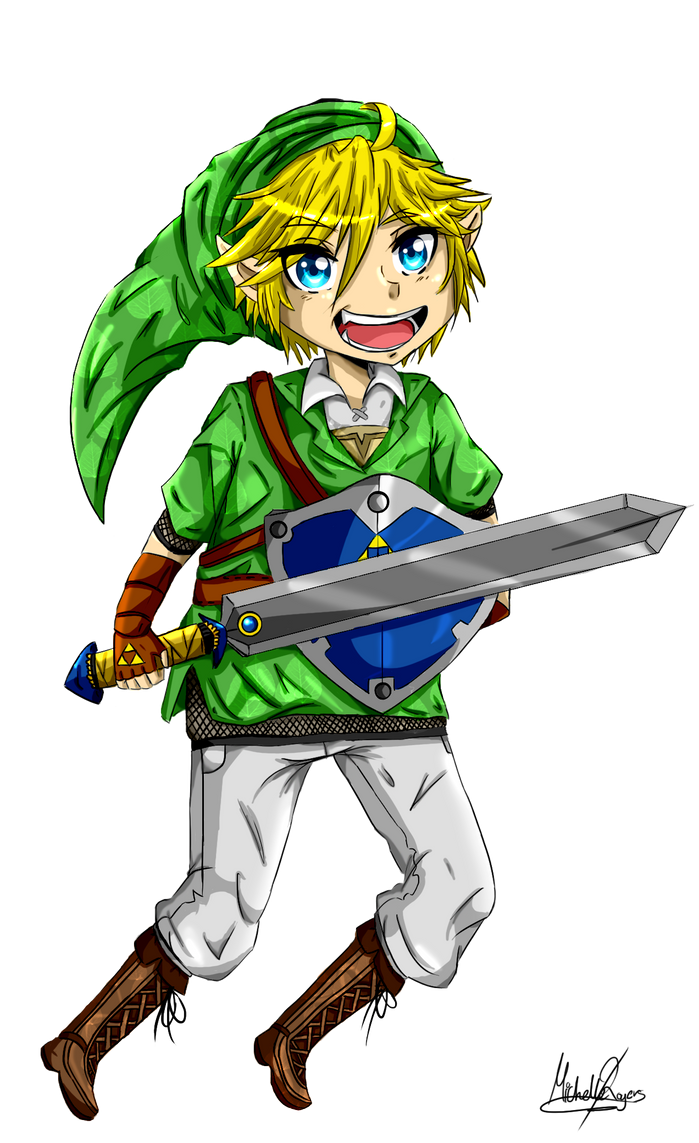 Legend Of Zelda Link by AppleLove-chan