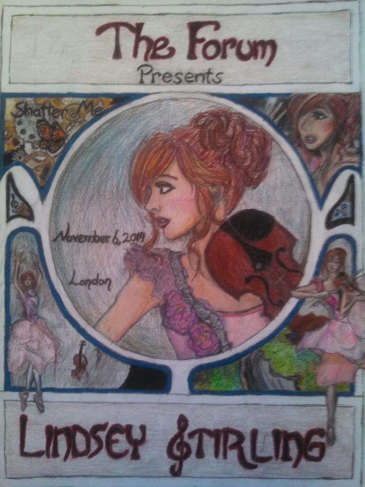 Contest Entry for Lindsey Stirling's Concert by mandaren