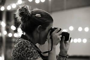 photographer girl by exosquelette