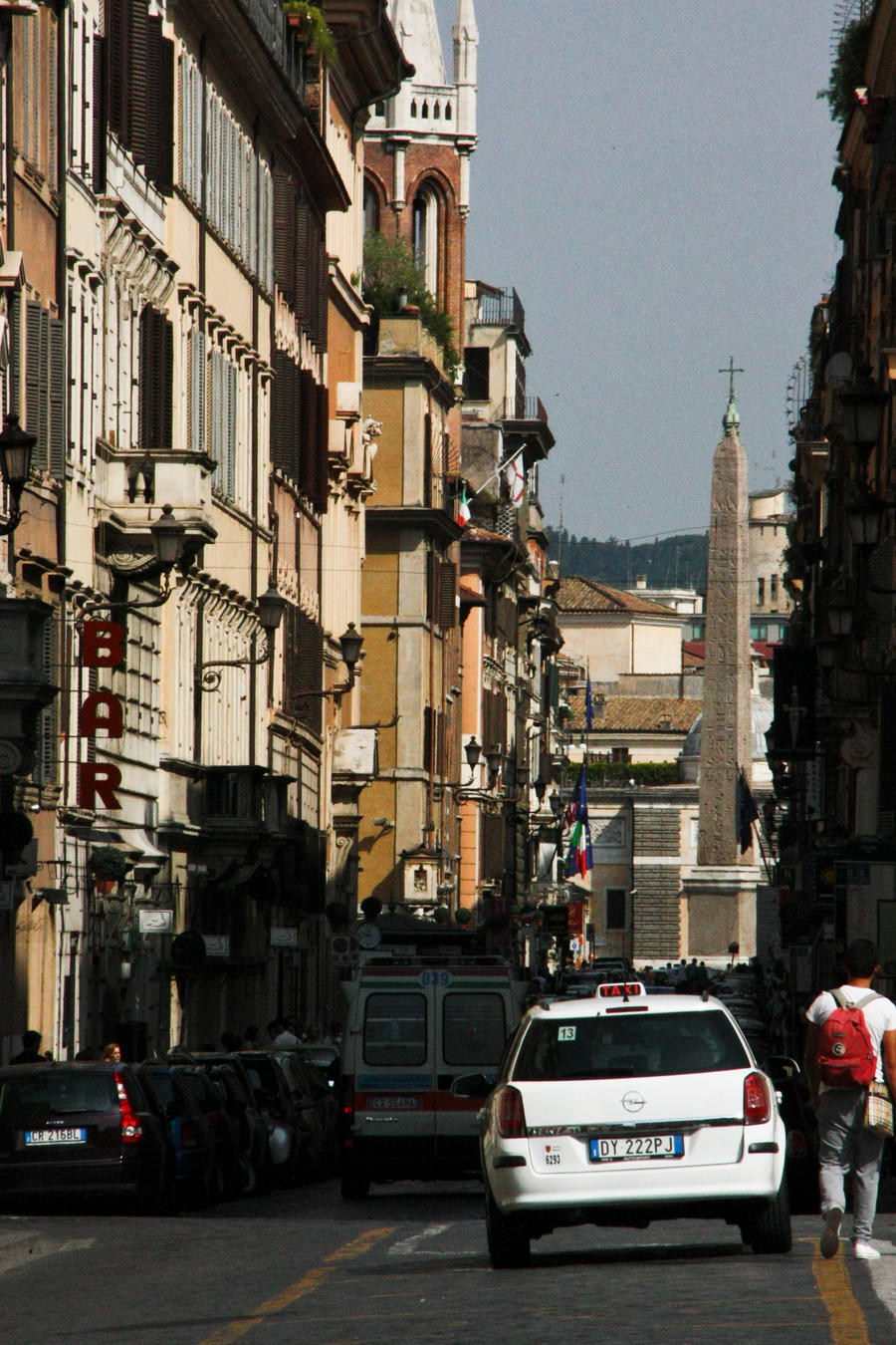 Roma Street Life by exosquelette