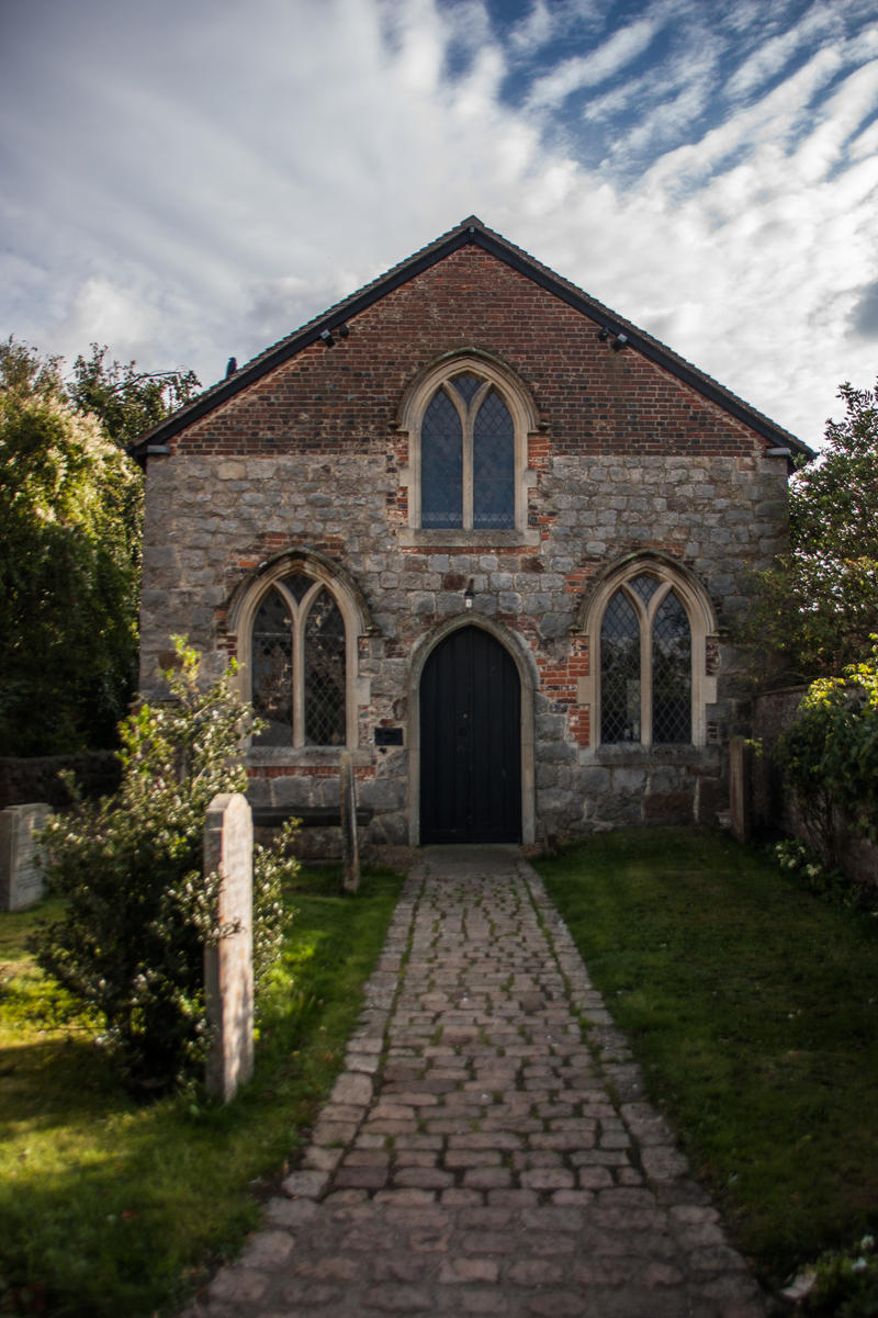 English Church by exosquelette