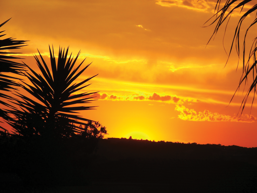 African sunset at home by JVA-Doodles
