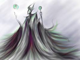 Maleficent by Atanau