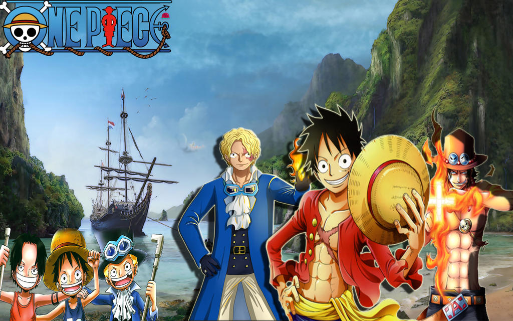 brothers luffy and ace wallpaper - photo #11