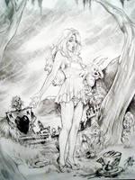 Zombies in Wonderland  Miller by ConceptsByMiller