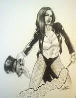 Zatanna In The Hat by ConceptsByMiller
