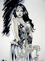 Steam Punk Wonder Woman By M by ConceptsByMiller