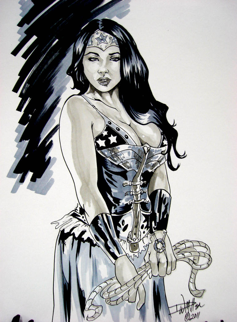 Steam Punk Wonder Woman By M by ConceptsByMiller