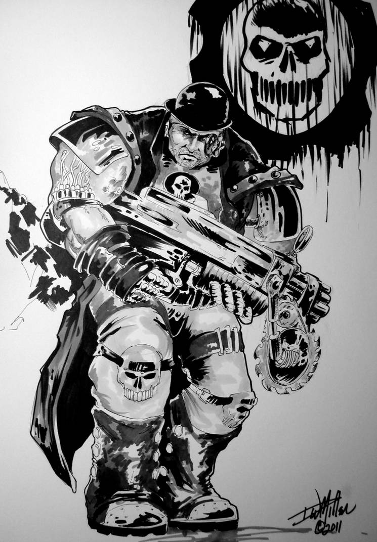 Steam Punk Gears Of War By M by ConceptsByMiller on DeviantArt