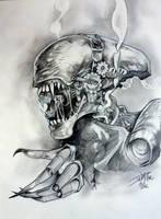 Alien Punk By DW Miller by ConceptsByMiller