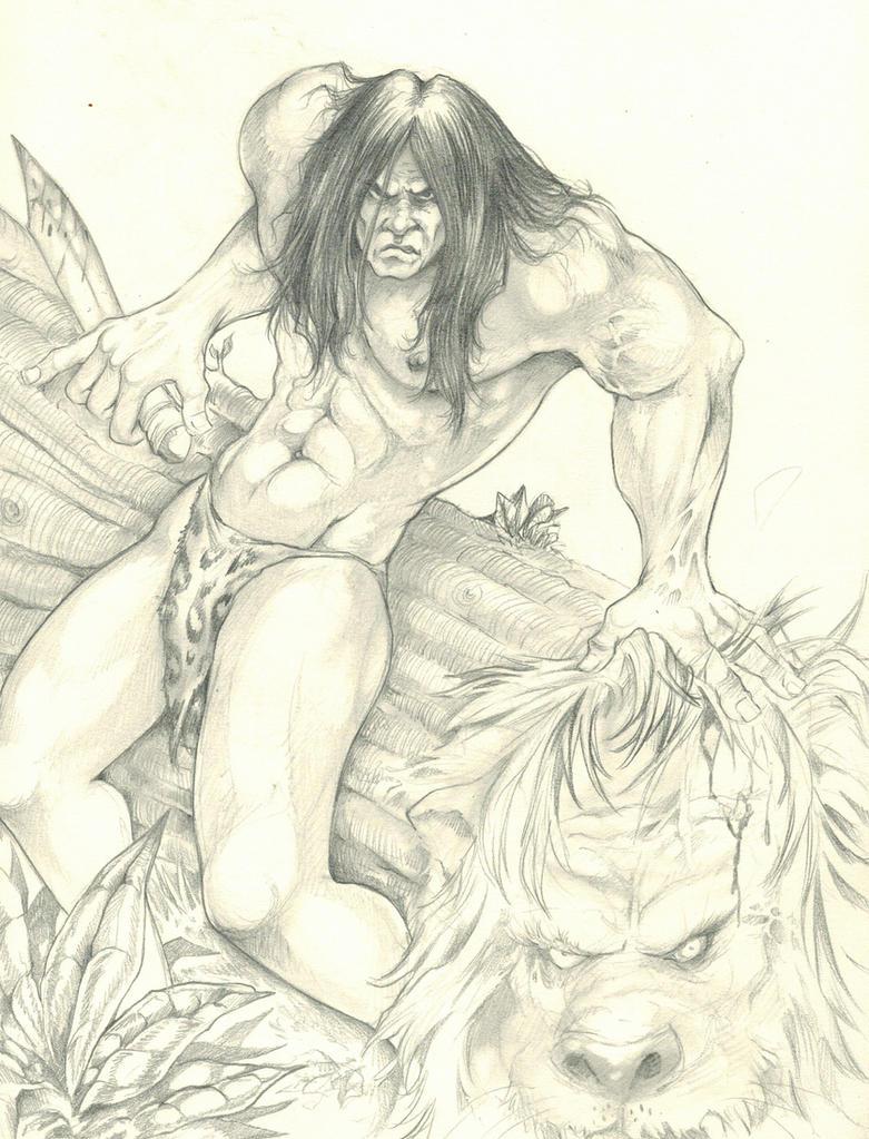 Tarzan by DW Miller by ConceptsByMiller