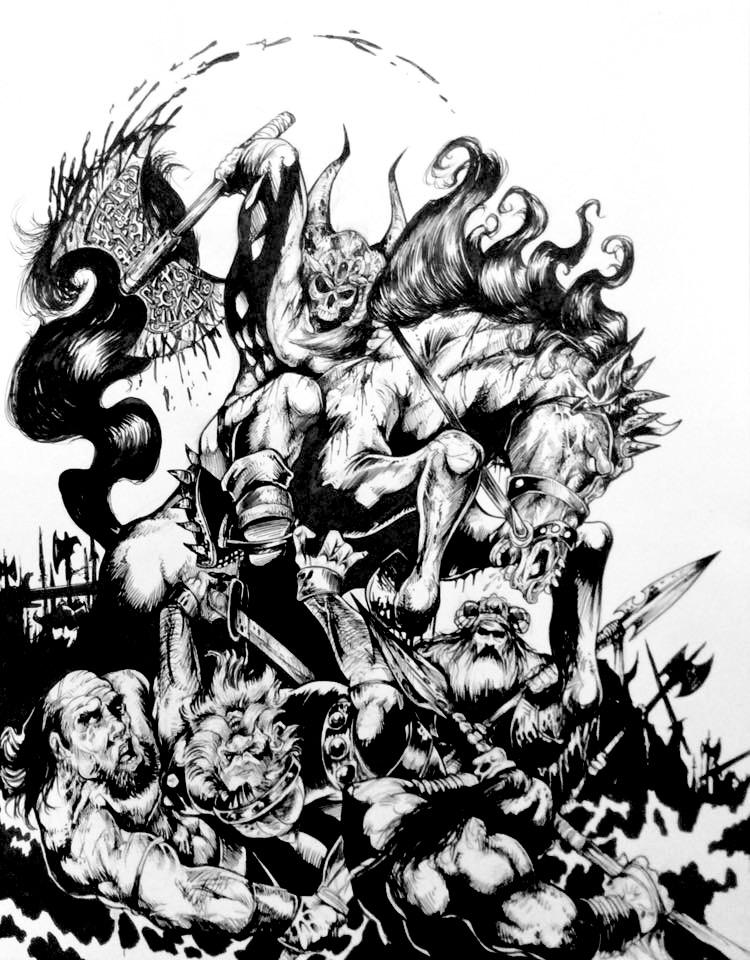 Goran The Destroyer By DW Miller by ConceptsByMiller