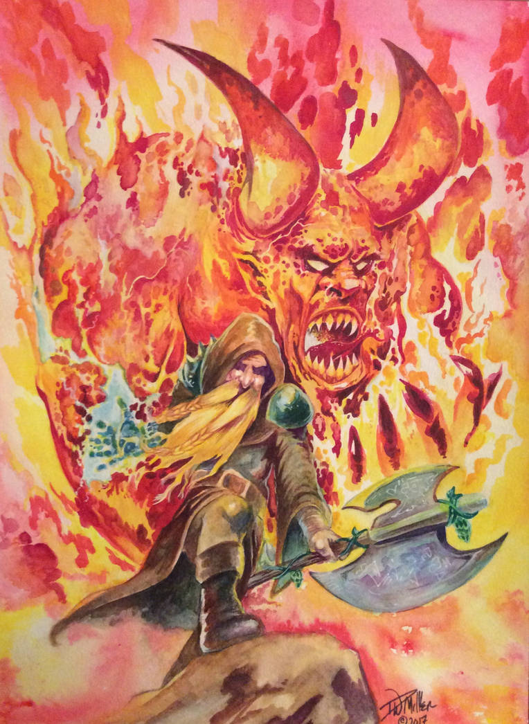 Summoning Ifrit By David W. Miller