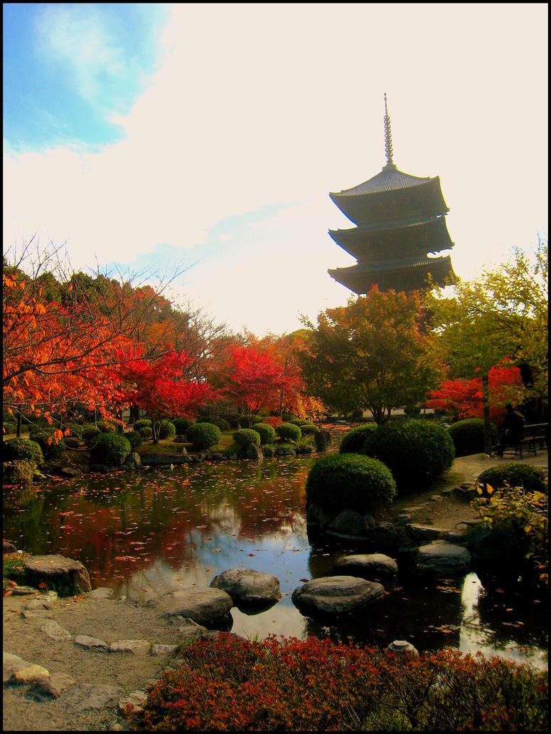 Paths to pagodas by calenheniel