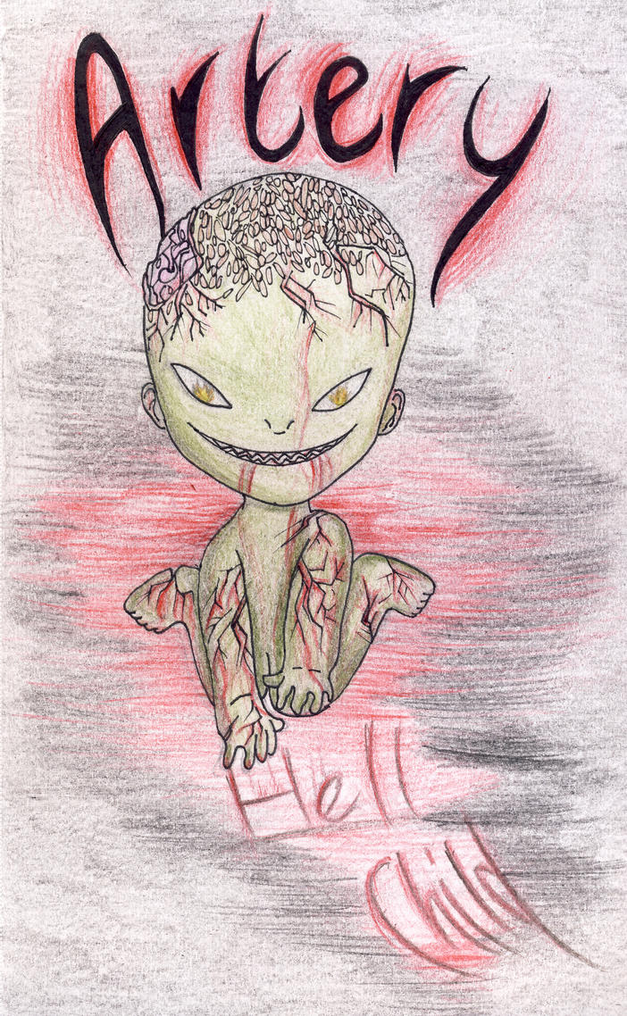 Artery The Hell Child by VioletHeartsx