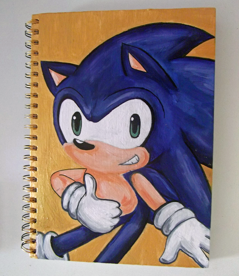 My Sketchbook Cover by VioletHeartsx