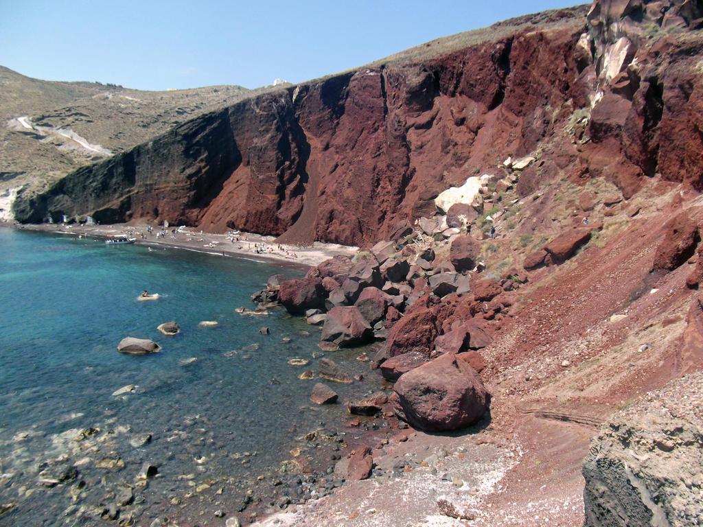 Red Beach, Akrotiri by paper-violet on DeviantArt