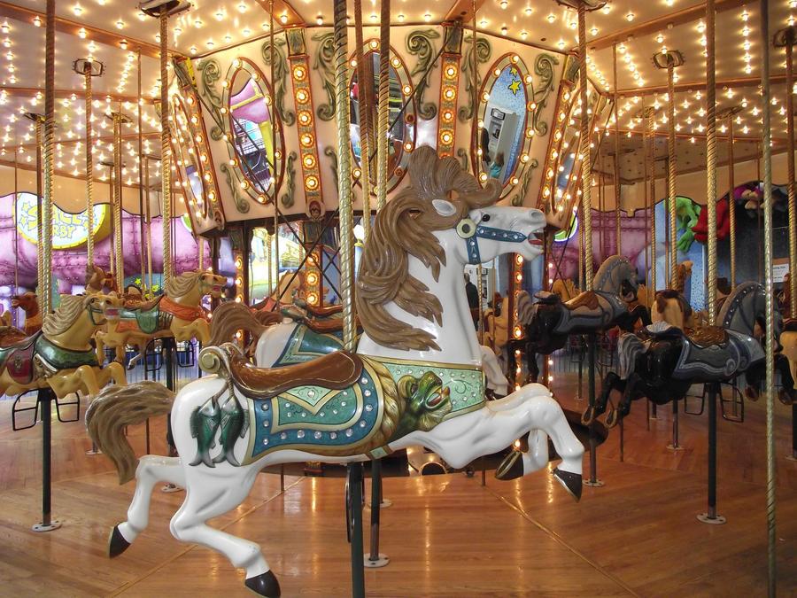 Merry-Go Round Horses 3 by RubedoReqium on DeviantArt