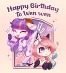 MLP - Happy birthday to Wen wen
