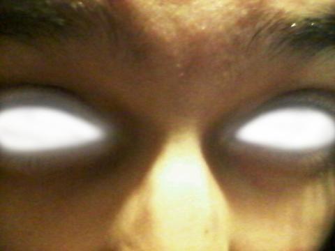 Glowing eyes by Sphere-of-Fantasy