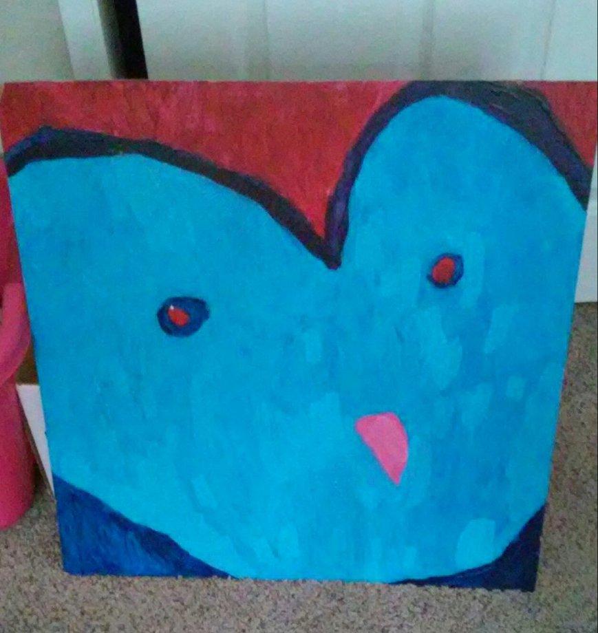 Owl painting by TootsieRoIIs
